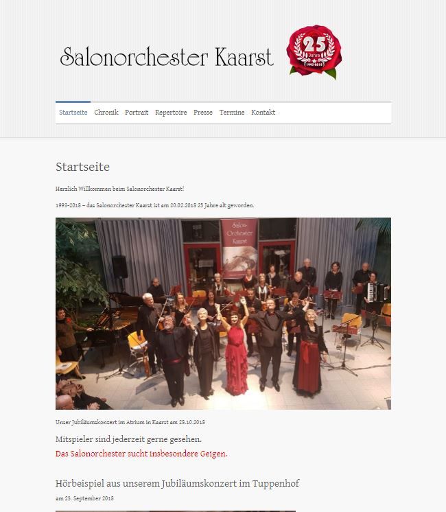 Salonorchester Kaarst
